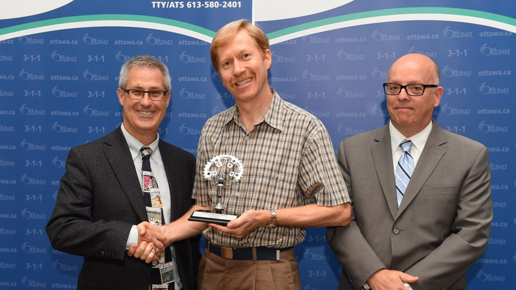 Bruce Timmermans Award for 2015 City of Ottawa presentation