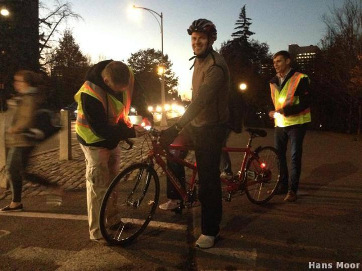 Lights on bikes 2015